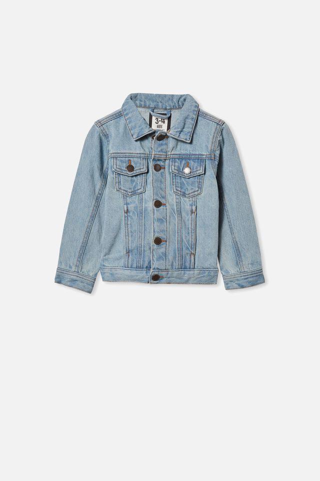 Quinn Denim Jacket, VINTAGE BLUE WASH