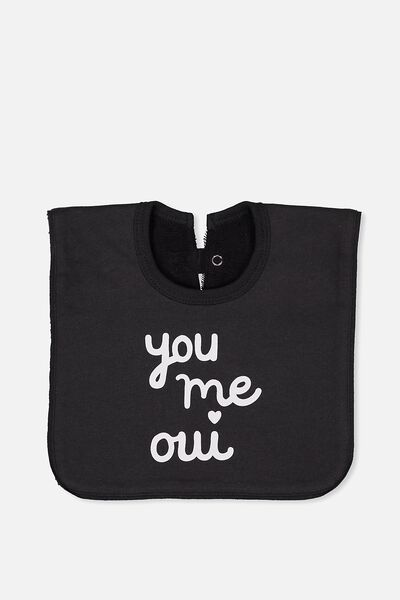 Hansel And Gretel Babies Bib, PHANTOM/YOU ME OUI