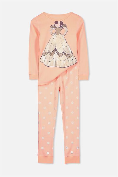 Kristen Girls Long Sleeve PJ Set, I AM BELLE