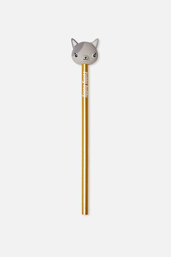 Sunny Buddy Pencil With Eraser, AVA 3D