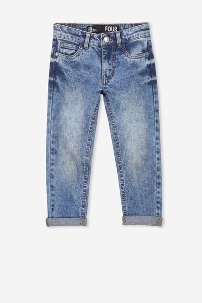 Ollie Slim Leg Jean, SKATER BLUE WASH