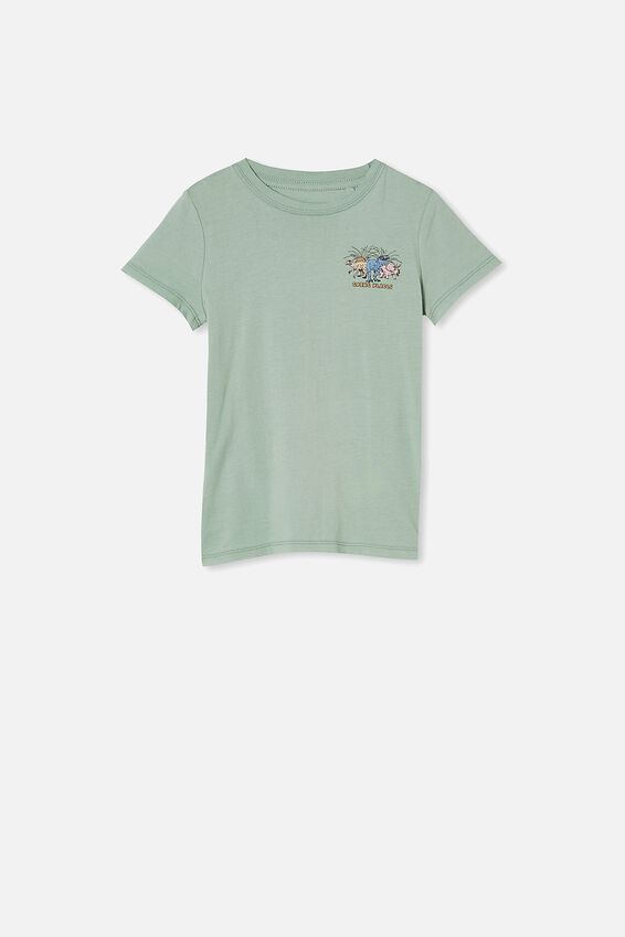 Max Short Sleeve Tee, SMASHED AVO/GOING PLACES DINO