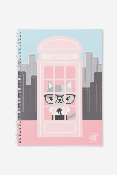 A4 Flip It Notebook, PHONEBOOK