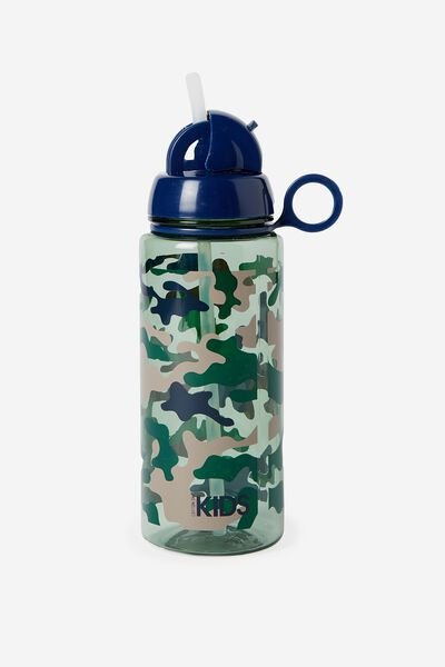 Spring Drink Bottle, GREEN CAMO