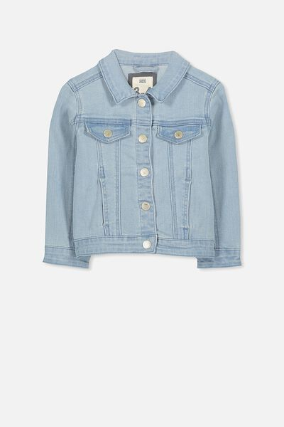 Dolly Denim Jacket, BLEACH WASH