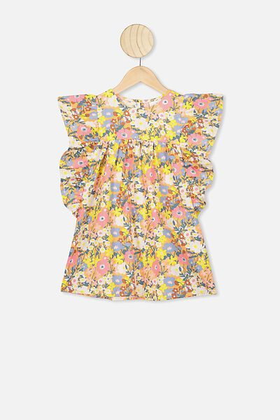 Maggie Short Sleeve Dress, NTH MEADOW FLORAL