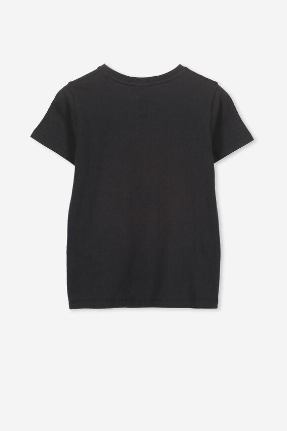 Lux Short Sleeve Tee, LCN LU VINTAGE BLACK/STAR WARS FOIL/MAX