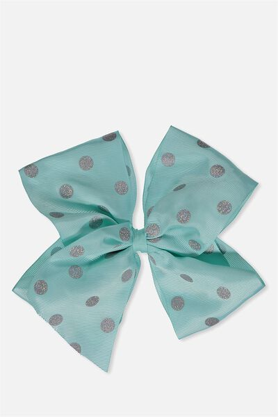 Statement Bows, TURQUOISE SPOT