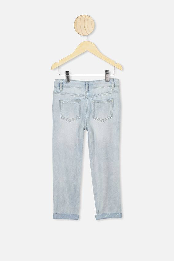 India Slouch Jean, BLEACH WASH