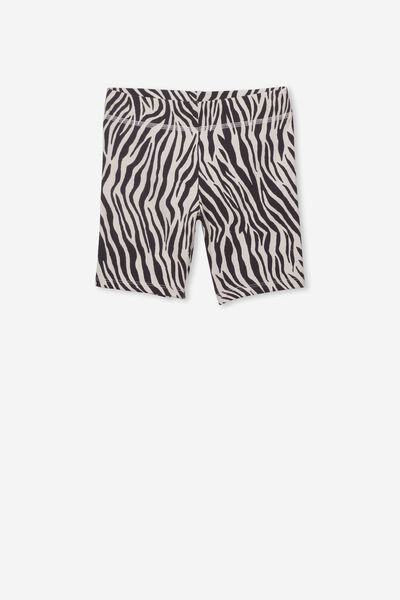 Hailey Short, DARK VANILLA/ZEBRA