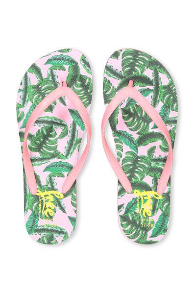 Free Flip Flops, G BANANA MONSTEREA