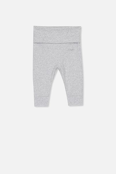 Newborn Essentials Legging, CLOUD MARLE