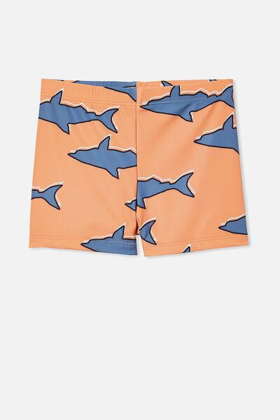 Billy Boyleg Swim Trunk, SHARK/MELON POP
