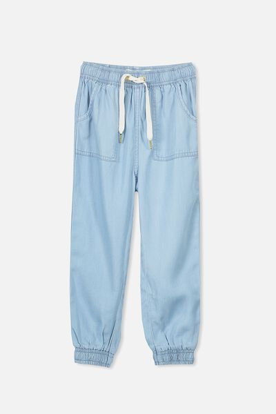 Alexa Jogger Pant, LIGHT WASH