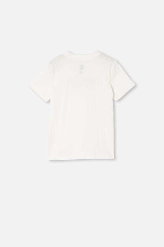 Co-Lab Short Sleeve Tee, LCN MGM RETRO WHITE / ROCKY
