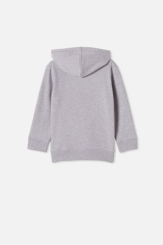 Horizon Hoodie, LIGHT GREY MARLE/MAMAS BOY