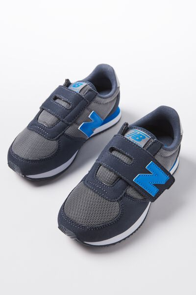 220 Youth Self Fastening New Balance 11F3, KV220GBY GREY BLUE