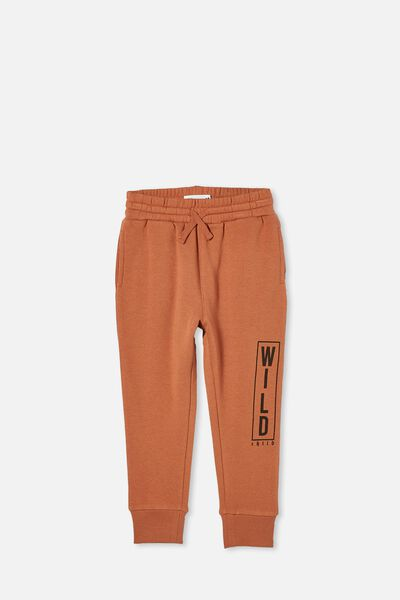 Heritage Trackpant, AMBER BROWN/WILD