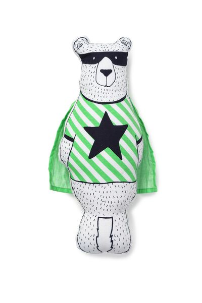 Harry The Super Bear, BLACK/WHITE