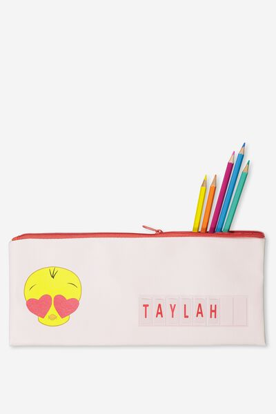 Pencil Case Name It, PINK TWEETIE