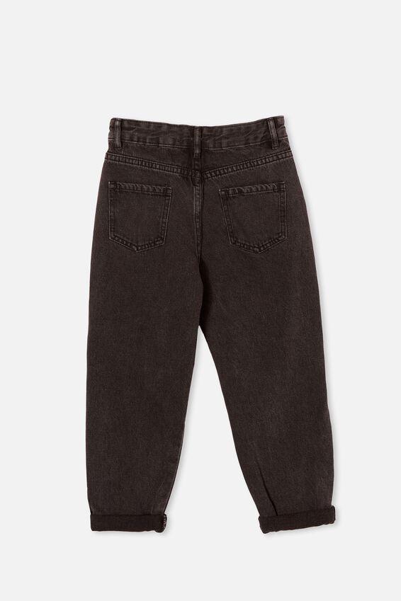 Rosita Balloon Leg Jean, BLACK WASH