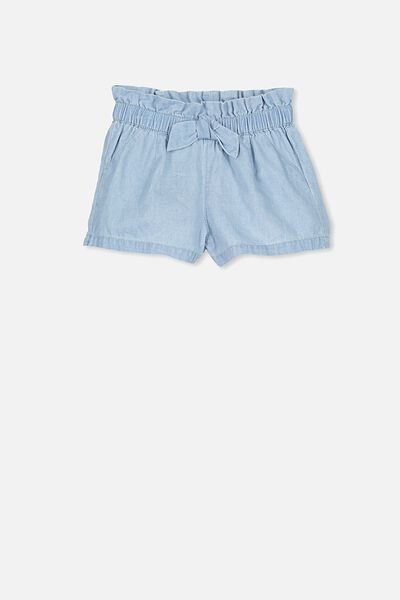 Stella Frill Short, CHAMBRAY