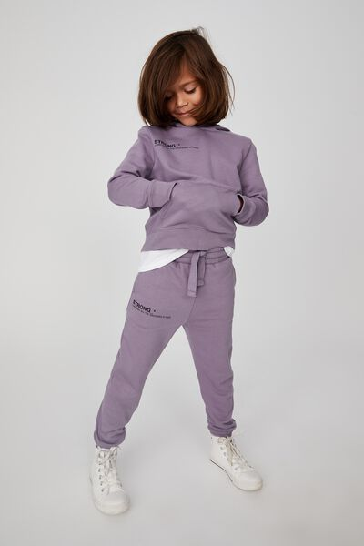 Marlo Trackpant, DUSK PURPLE/STRONG