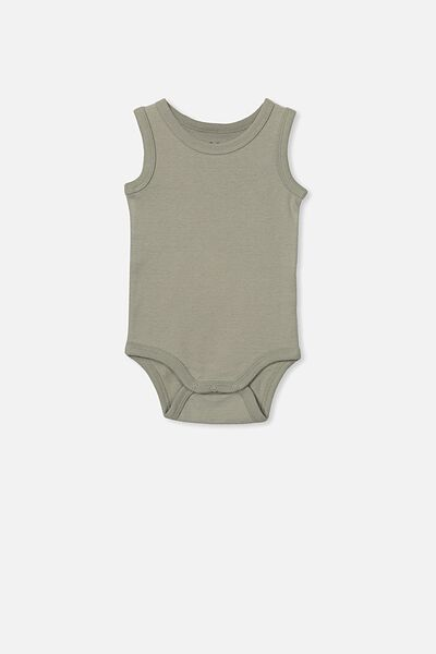 The Singlet Bubbysuit, SILVER SAGE