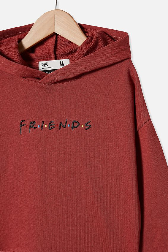 License Hoodie, LCN WB GARNET/FRIENDS