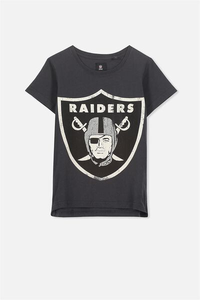 Short Sleeve Licence1 Tee, PHANTOM/RAIDERS