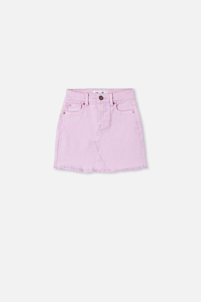 Finn Denim Skirt, PALE VIOLET