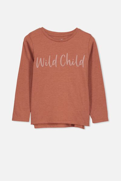 Penelope Long Sleeve Tee, CHUTNEY MARLE/WILD CHILD/SET IN