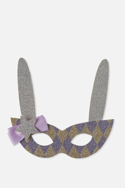 Glitzy Fun Mask, MAGIC RABBIT
