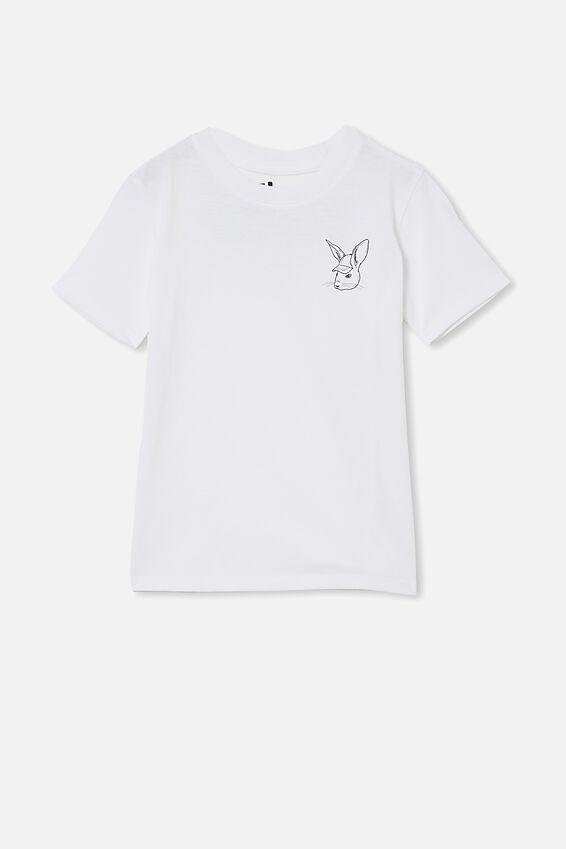 Max Skater Short Sleeve Tee, WHITE / TOO HIP TO HOP