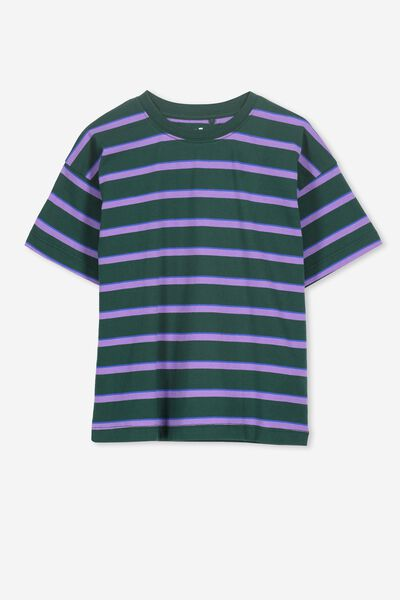 Max Loose Fit Tee BX SCOUT GREEN STRIPE
