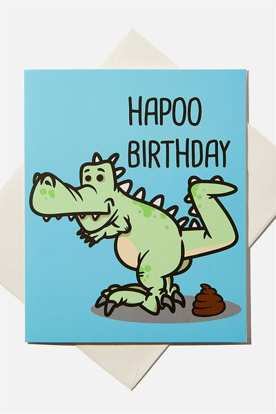 Birthday Gift Card, HAPOO BIRTHDAY