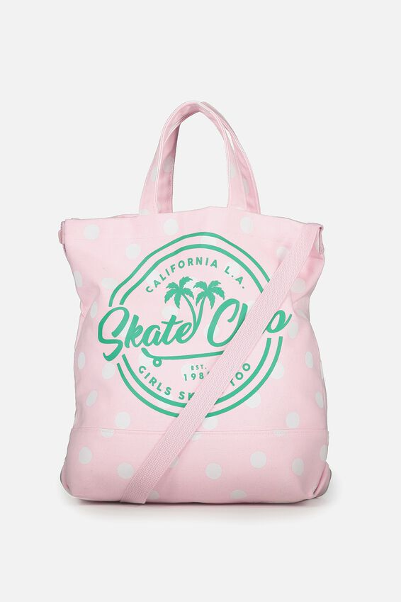 Personalised Printed Beach Tote, SKATE CLUB