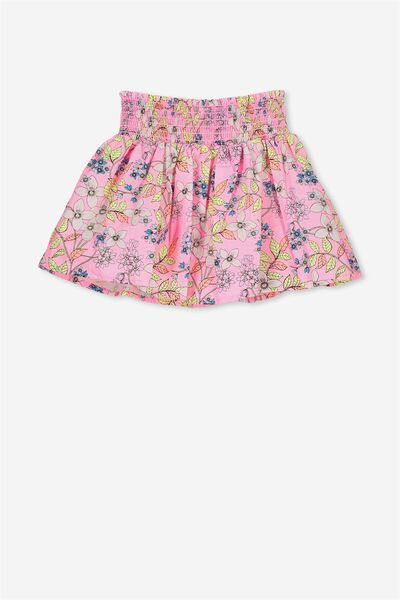 Sunday Skirt, PERRY PINK RETRO FLORAL