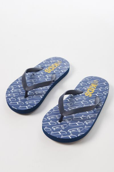 Printed Flip Flop, B SKATEBOARDS
