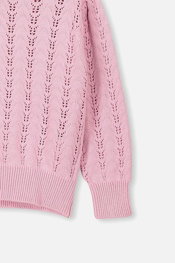 Josie Pointelle Jumper, MARSHMALLOW