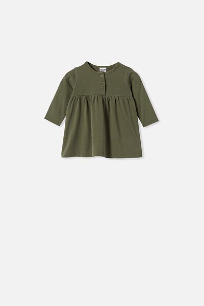 Karmen Dress, BEETLE GREEN WASH