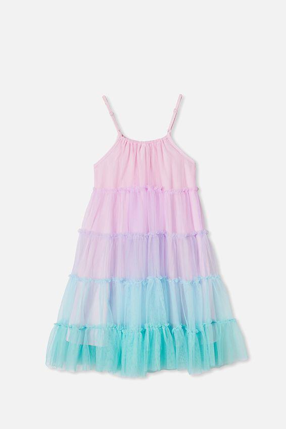 Iggy Dress Up Dress, UNICORN RAINBOW