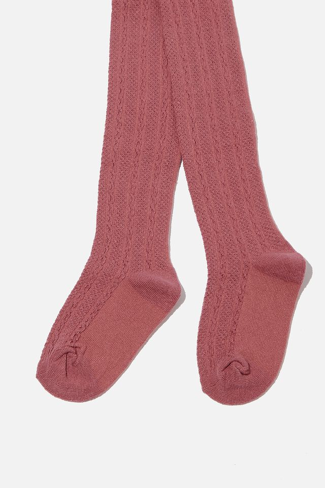 Tilly Tights, DUSTY BERRY TEXTURE