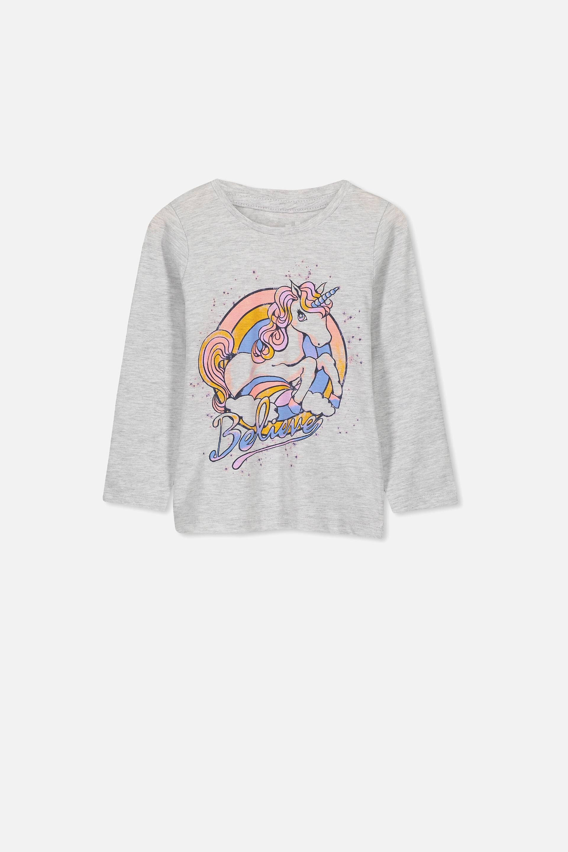 Kids Personalised Believe In Unicorn T Shirt All Sizes Girls Boys Gift Present