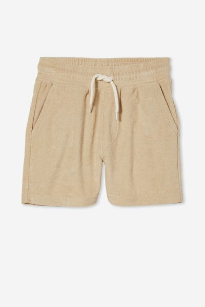 Henry Slouch Short 80/20, SEMOLINA/TERRY TOWELLING