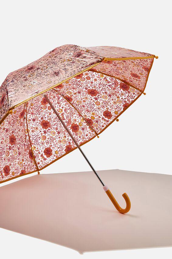 Kids Cloudburst Umbrella, CHUTNEY GARDEN FLORAL