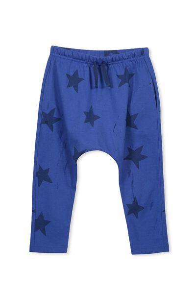 Felix Slouch Pant, SCUBA BLUE/STARS