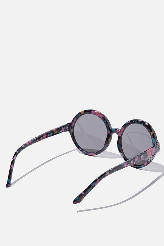 Kids Retro Sunglasses, SPRINKLED DITSY