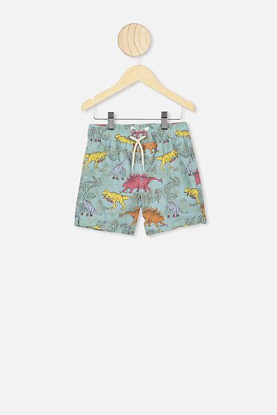 Volly Short, GREEN DINO YDG