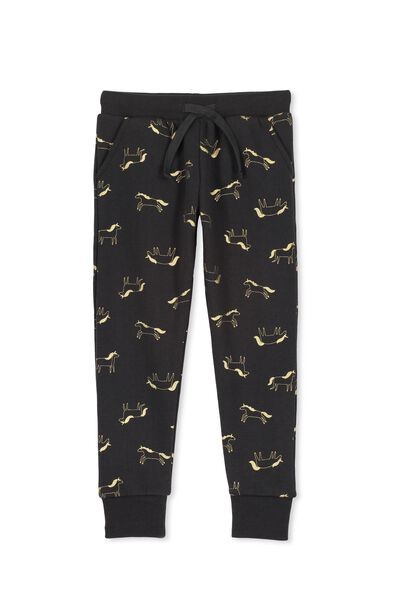 Kikii Sweatpant, PHANTOM/UNICORN YARDAGE